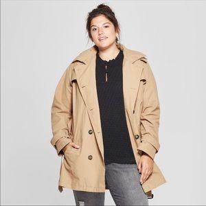 Ava & Viv water resistant trench coat